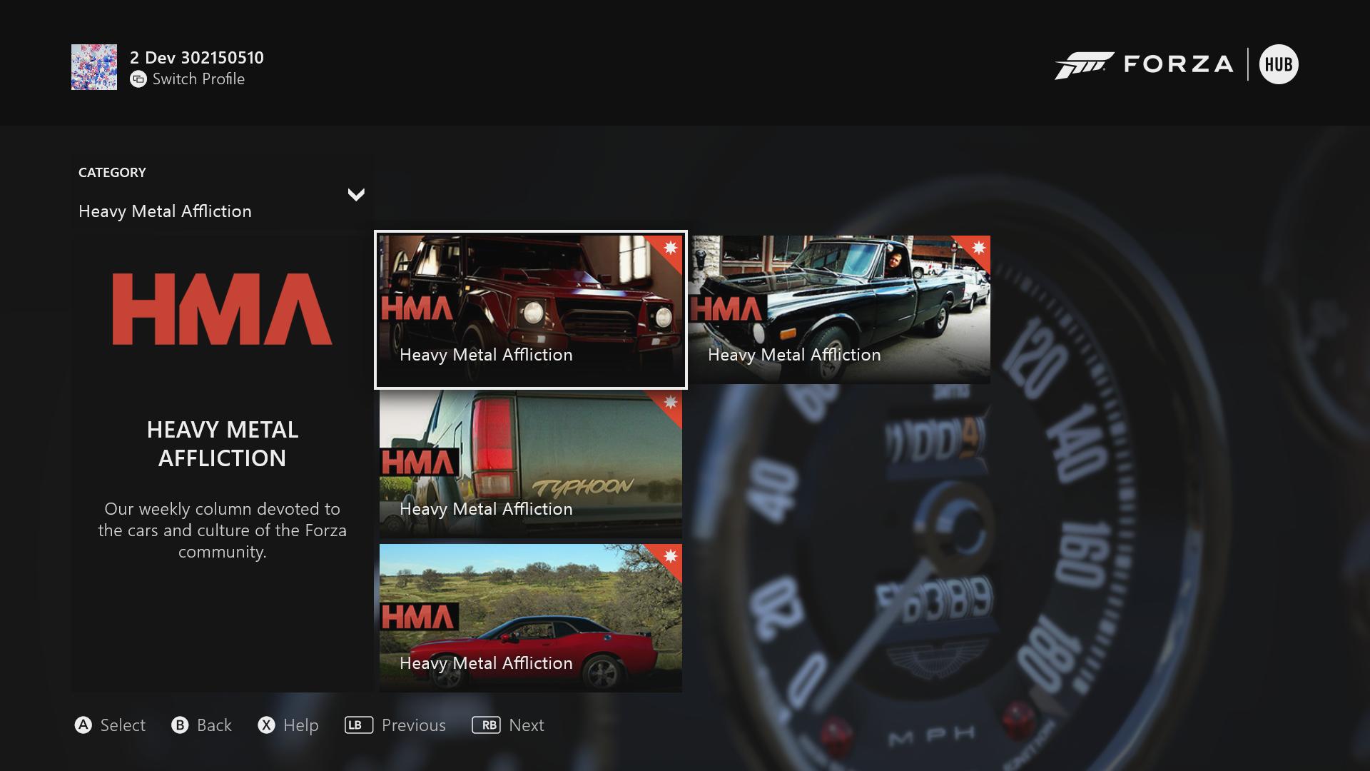 Forza Motorsport - Forza Hub - Update