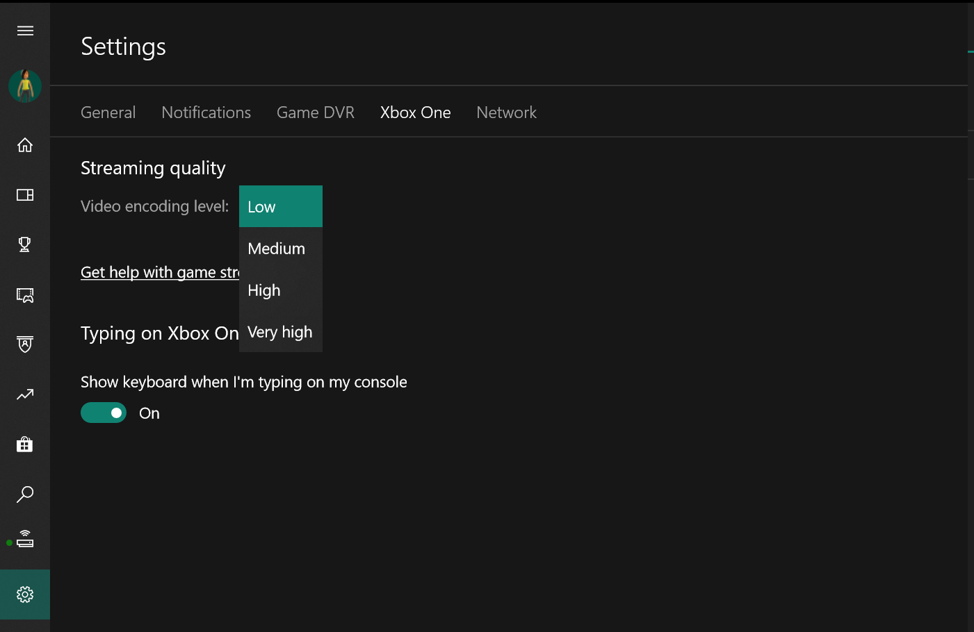 How to use game streaming in the Xbox Console Companion app on