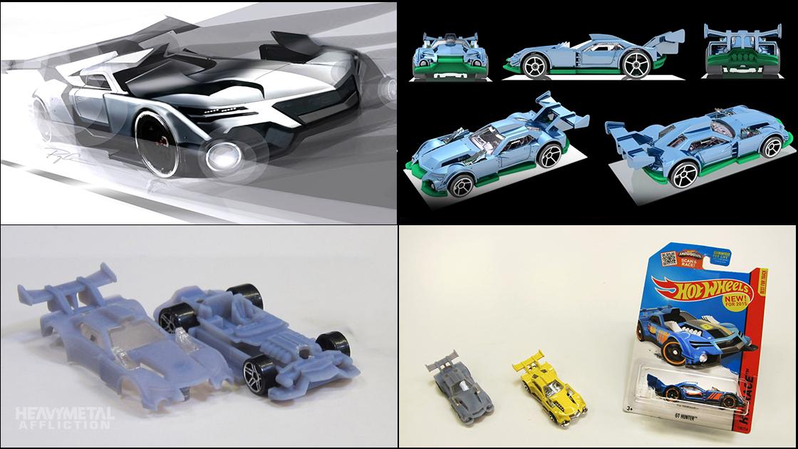 Forza Motorsport - Heavy Metal Affliction - Hot Wheels Bone