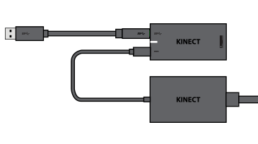 Kinect-adapter til Windows