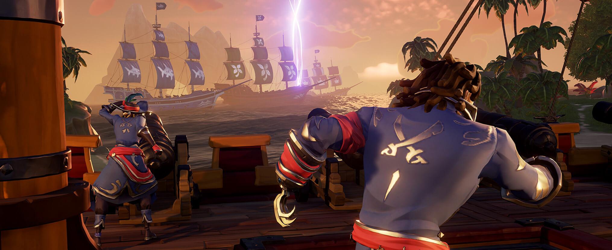 Nuevo vídeo de Sea of Thieves explica cómo interactuar con los emisarios de Ships of Fortune 3