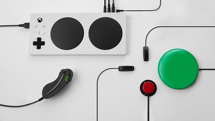 The Xbox Adaptive Controller enables you to create a gaming configuration that works for you.