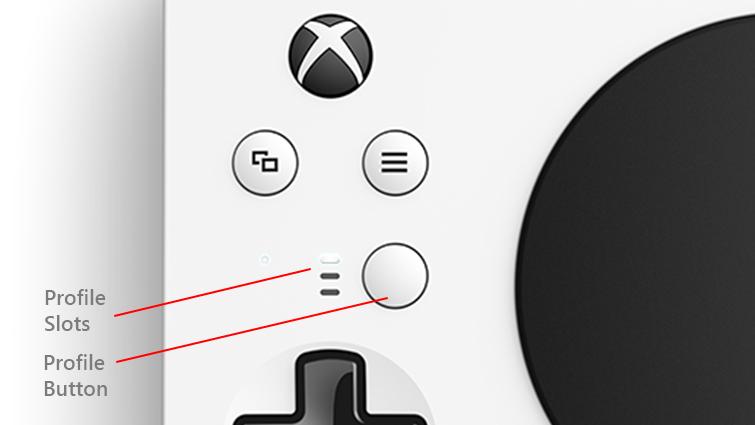 Profile button