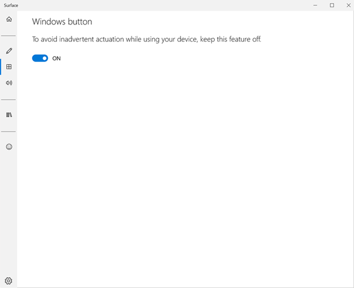 Disable the Windows button