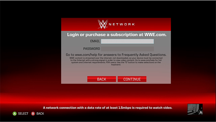Set Up the WWE App on Xbox 360