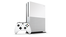 Using the vertical stands for the Xbox One S and Xbox One X consoles