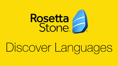 Application Discover Languages de Rosetta Stone pour Xbox One
