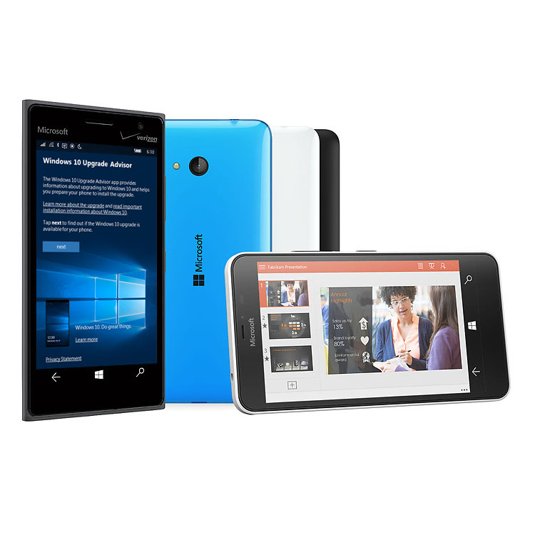 Learn more about Windows 10 for mobile