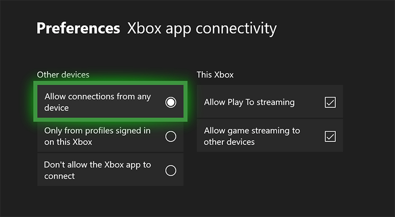 Troubleshoot Xbox Console Companion App Game Streaming