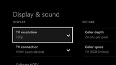 Change Display Resolution for Your TV | Xbox One Settings
